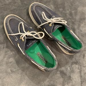 Sperry Top-sider navy boat shoes